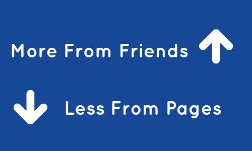 Facebook algorithm friends