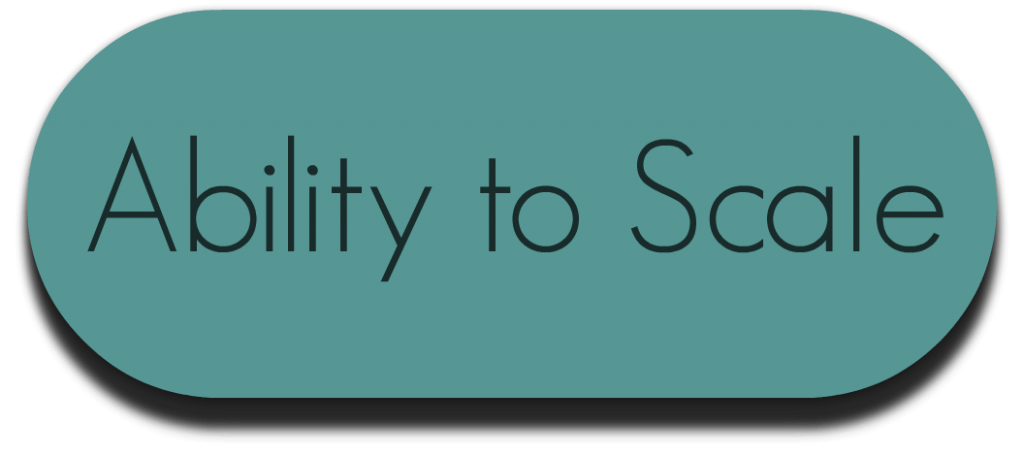 Ability to Scale