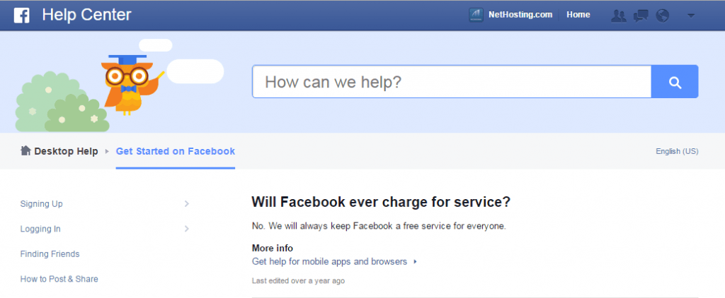 Facebook Cost