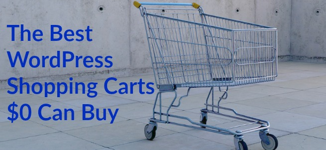 wordpress shopping cart plugins
